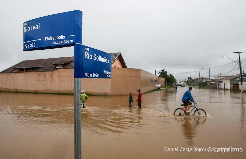 Enchente Weissópolis