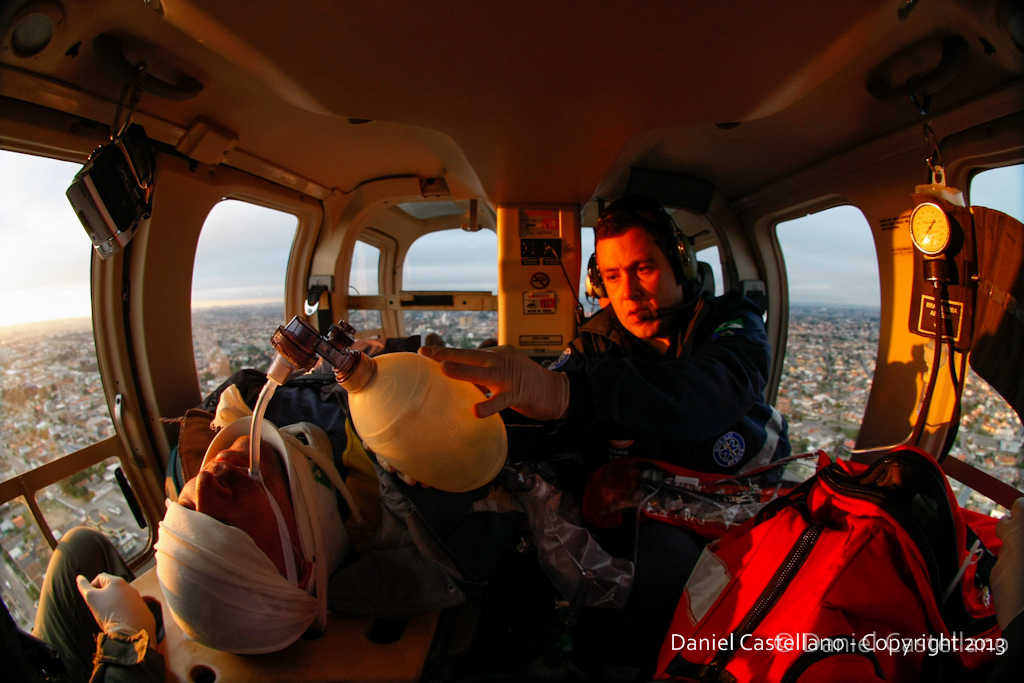 Resgate aéreo