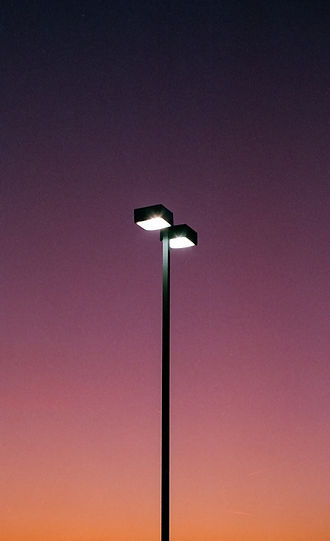 Sunset gradient light