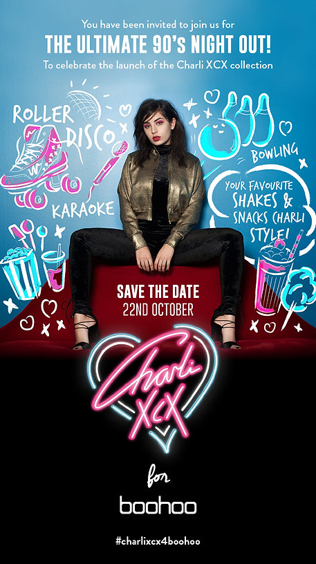 Charli XCX - The Ultimate 90's Night Out!