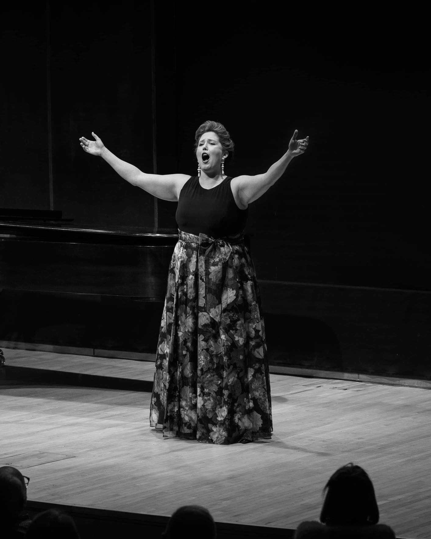 Performing Verdi's famous Bolero, Bruno Walter Auditorium at Lincoln Center, January 2020