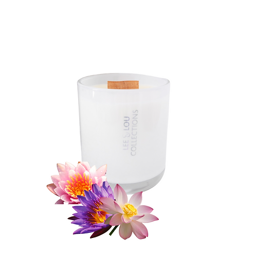 Seamist & Waterlily Luxe Candle
