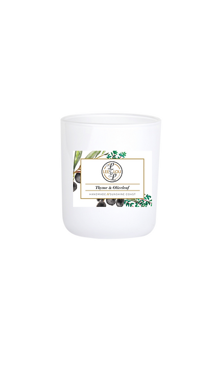Coastal Candle Collection - Thyme & Olive Leaf