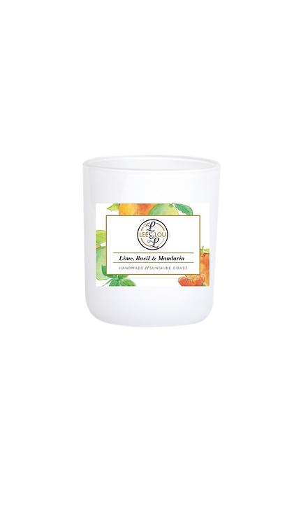 Coastal Candle Collection - Lime Basil & Mandarin