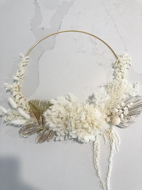 Dried Floral Wreath #2