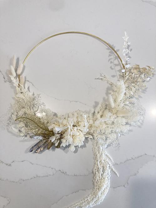 Dried Floral Wreath #1