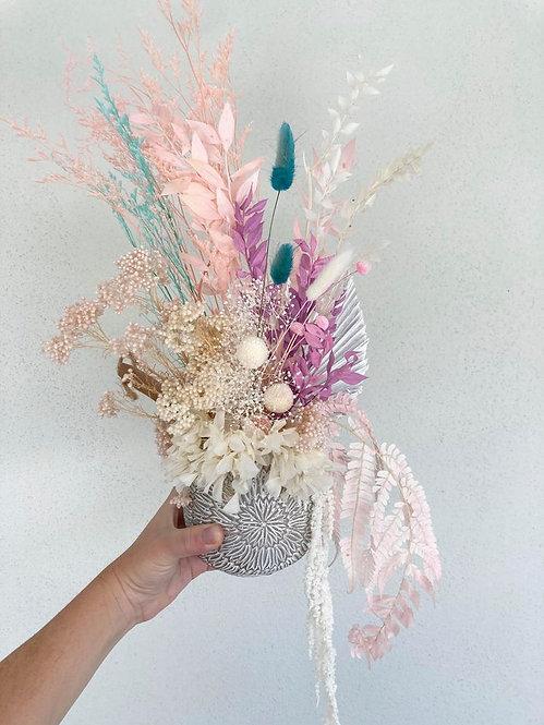 Summer Dried Flower Arrangement