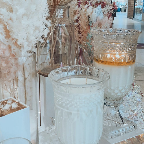 Crystal Vase Candle