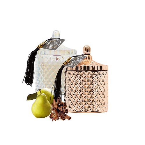 GEO Candle Collection  - Spiced Pear