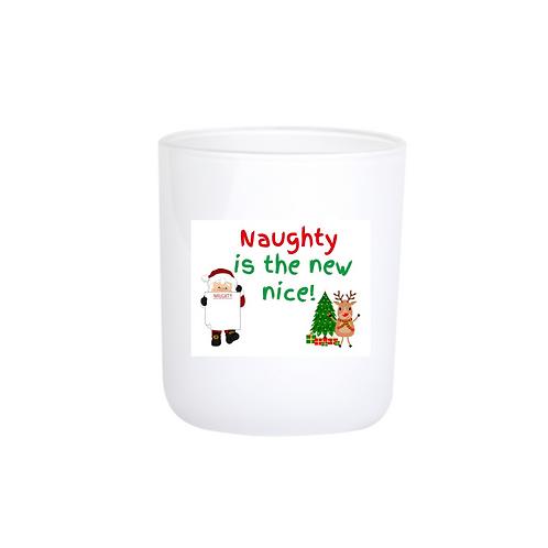 Christmas Candle - Naughty is the new nice