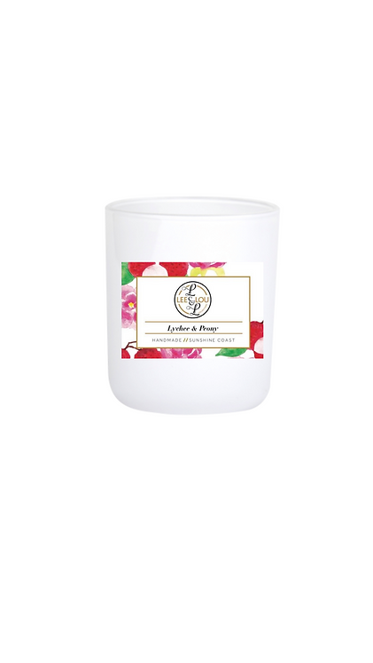 Coastal Candle Collection - Lychee & Peony