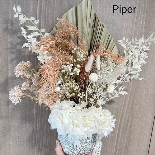Piper Dried Flower Arrangement