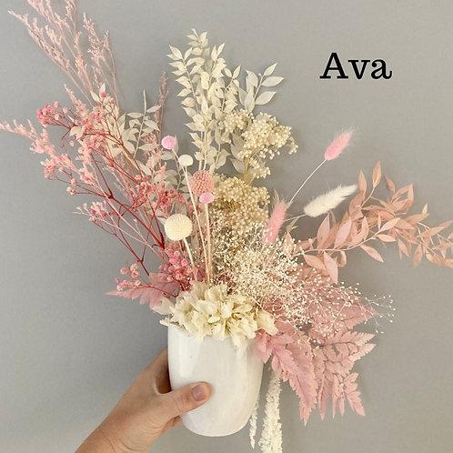Ava Dried Flower Arrangement