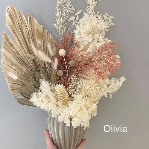 Olivia Dried Flower Arrangement
