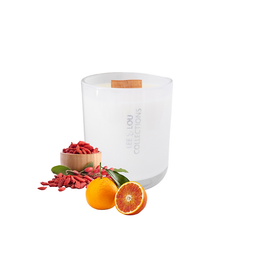 Berry & Tarocco Orange Luxe Candle