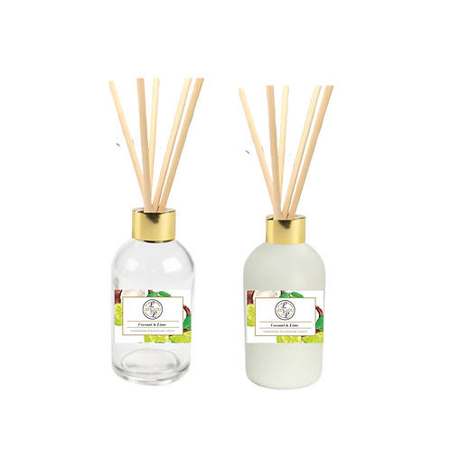 Coastal Scented Diffuser - COCONUT & LIME
