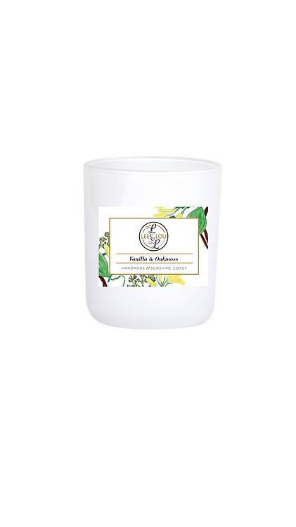 Coastal Candle Collection - Vanilla & Oakmoss