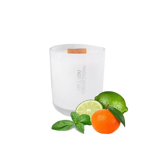 Lime, Basil & Mandarin Luxe Candle