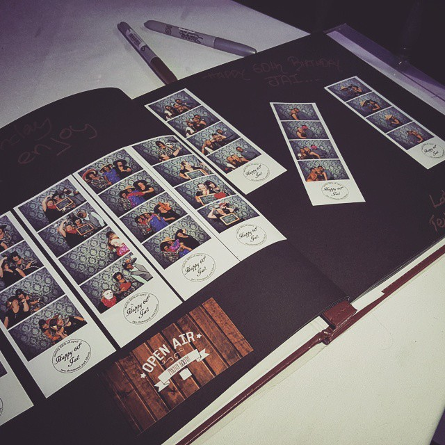 Open Air Photo Booth Guest Book