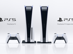 PS5 disc and digital versions