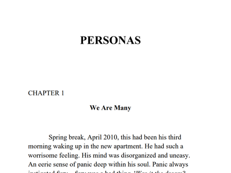 Snippets from Personas Book 1, carry on..