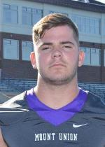 Travis Wateska RB Mount Union Colleg