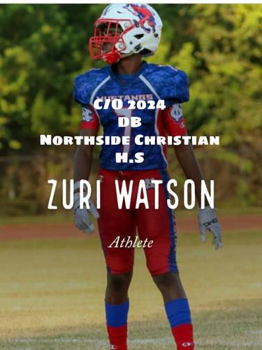 Zuri Watson 2024 ATH