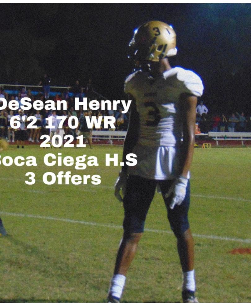 DeSean Henry WR 2021
