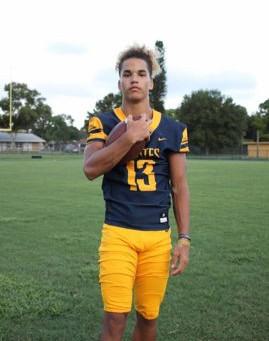 "Under-the-radar 2020 Slot-Wr Anthony Nettles 5'10"" 160 (Boca Ciega High School)"
