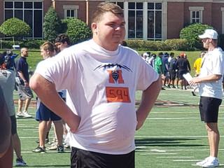 2022 OL Zack Menard looking for Good Fit
