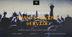 COFBSA Friday Night Thanksgiving Service