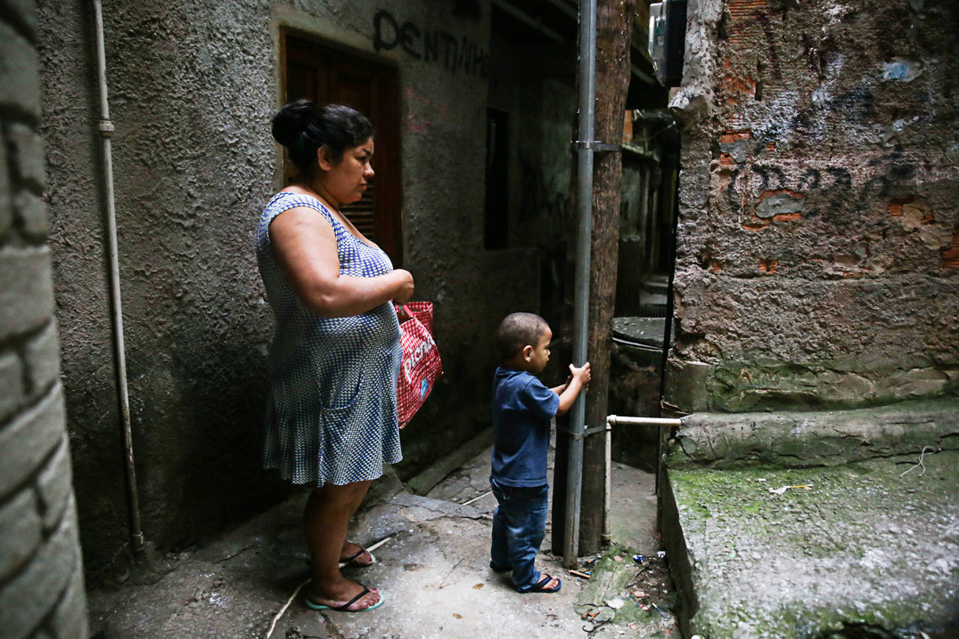 In the alleys