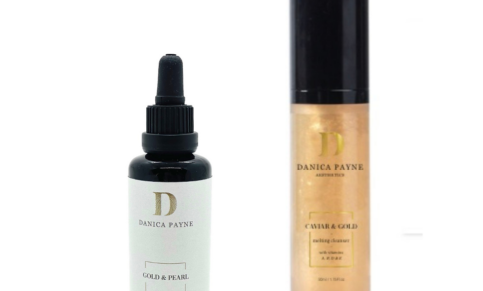 Gold Facial Cleanser & Toner