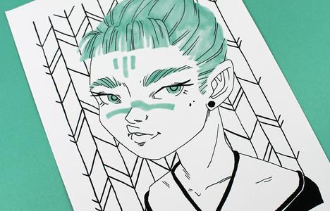 Print Portrait