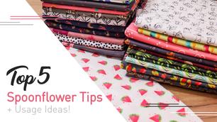 Top 5 Beginner Tips for ordering from Spoonflower