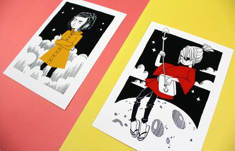 Prints Kubo and Coraline