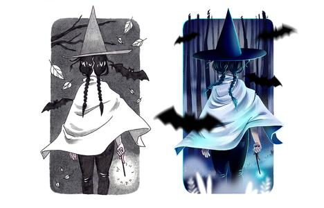 Illustration Witchtober 2020