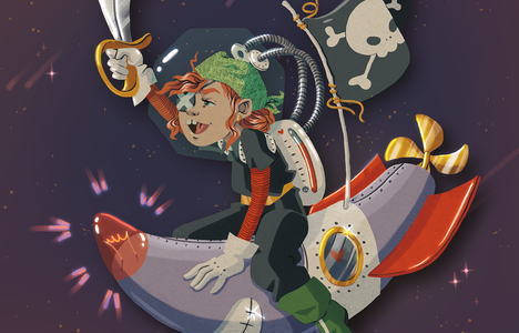 Illustration Space Pirate