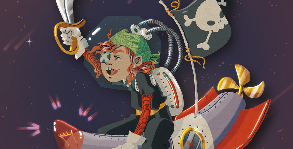 Illustration Space Pirate