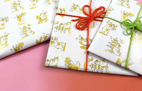 Wrapping Paper Christmas Bears