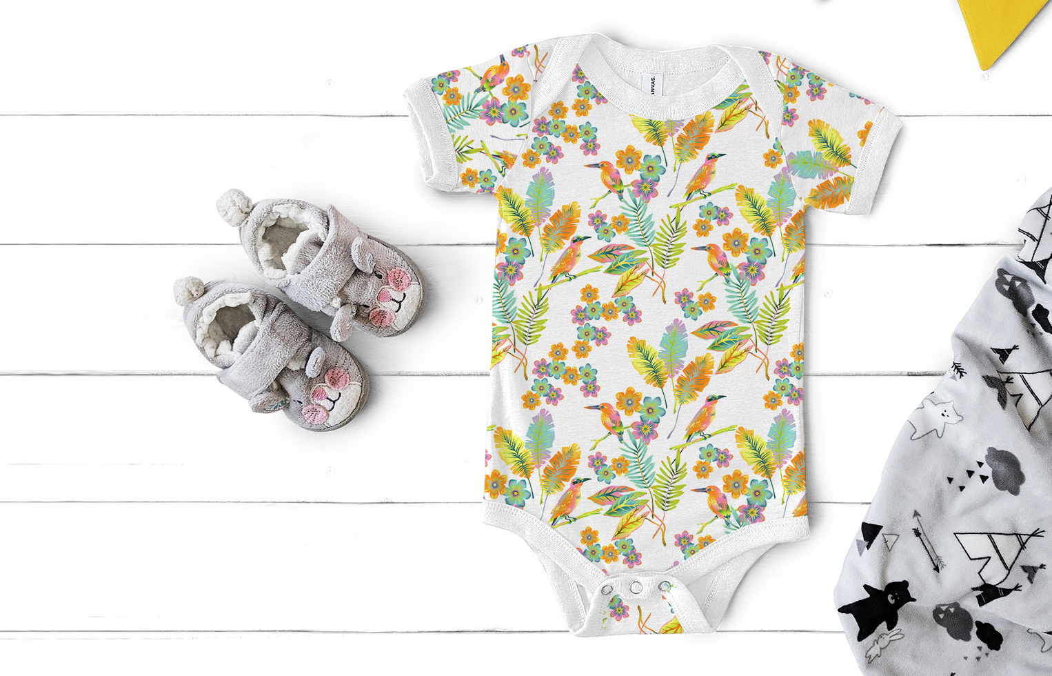 Baby Body Tropical Paradise