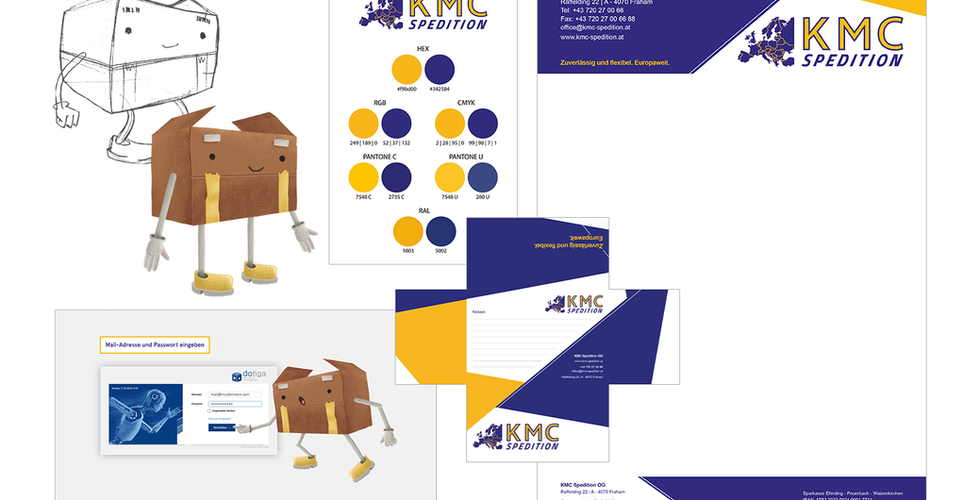 Corporate Material KMC Spedition