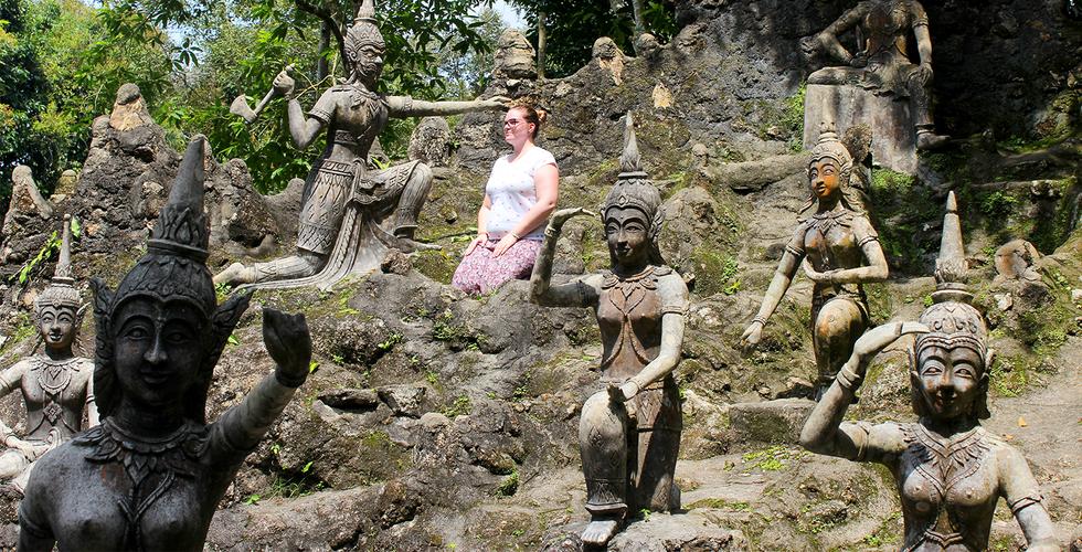 Secret Buddha Garden, Koh Samui, Thailand