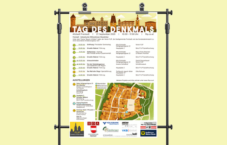 Poster Tag des Denkmals