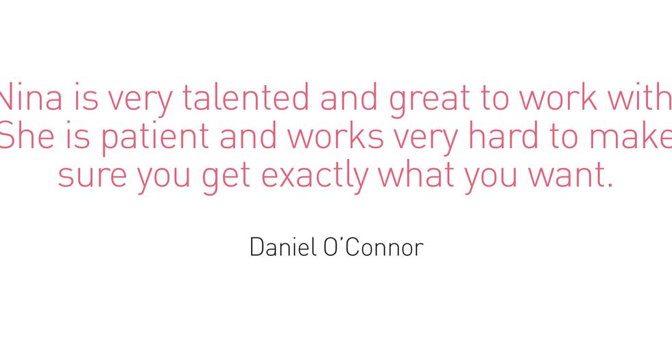 Testimonial - Daniel O'Connor