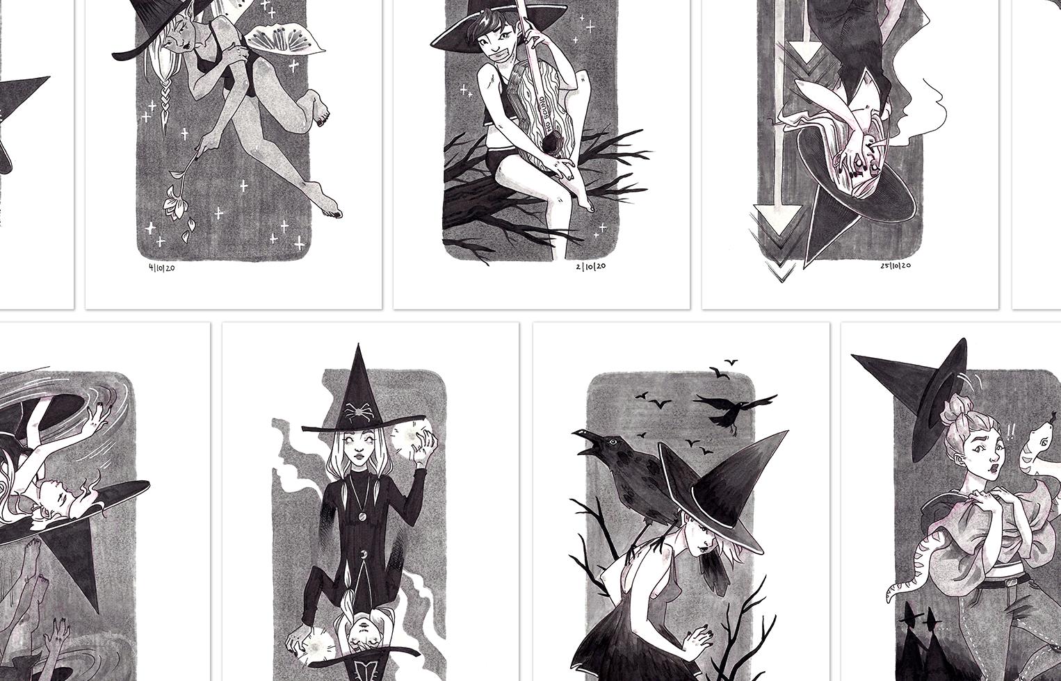 Prints Witchtober 2020
