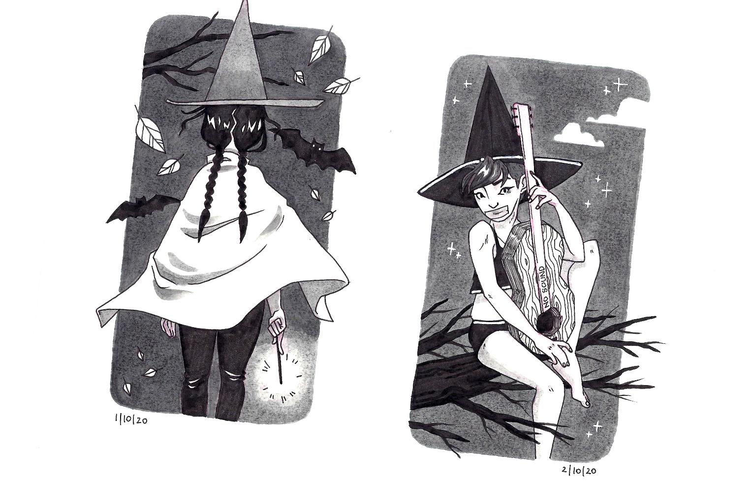 Illustrations Witchtober 2020