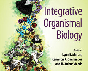 Integrative Organismal Biology book from Wiley is out!