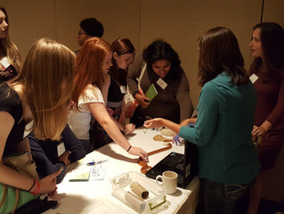 This Thursday, I met aspiring high school students at the Society of Women in Sciences and Mathemati