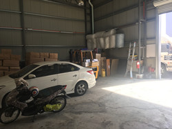 Vehicle kept in warehouse before shipping/delivery